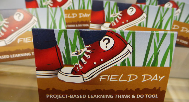 Field Day PBL Mobile App business card printing by Alaska Litho