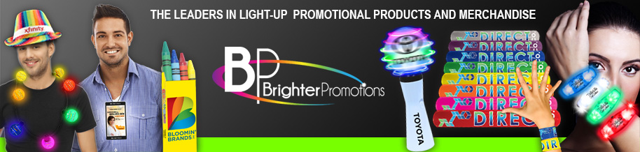 Glowing promotional products