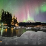 2015 poster calendar with the Alaska Litho photo contest winner