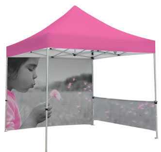 Zoom tent, customized printing
