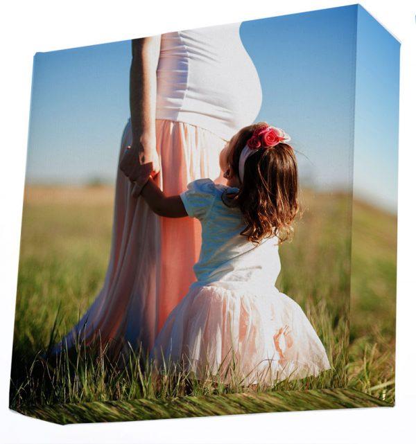 15x15 inch square photo canvas print