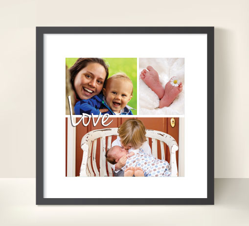 16x16 inch Square photo prints