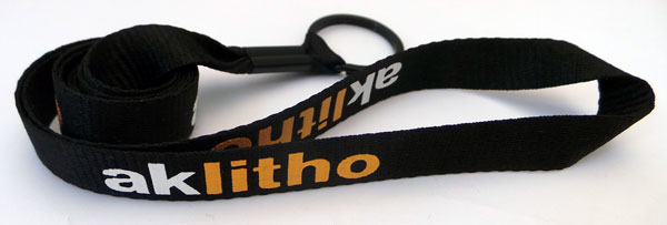 Custom screenprint lanyards