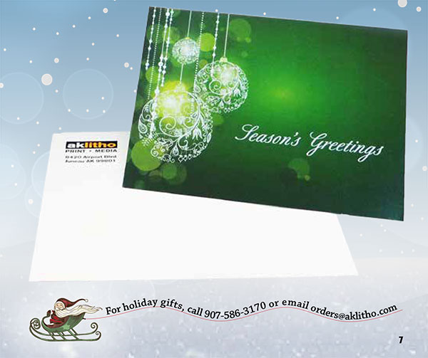 We can help you show your clients and business partners how much you appreciate them with custom holiday cards.