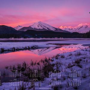 2018 Alaska Litho Poster Calendar