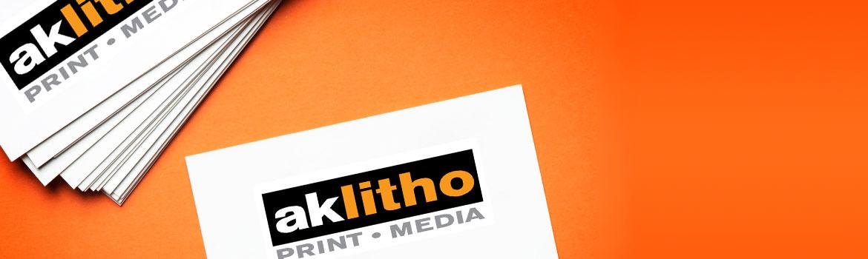 Order business cards from Alaska Litho Juneau printer