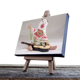 """Order an 18x24"""" canvas print with your personal photo. Mounted on stretcher bars, ready to display."""