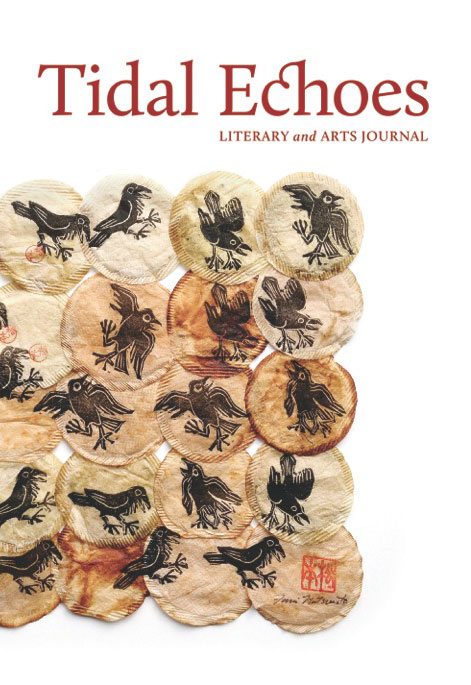 Tidal Echoes 2015 literary and arts journal, cover