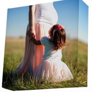 15x15 inch square photo canvas print