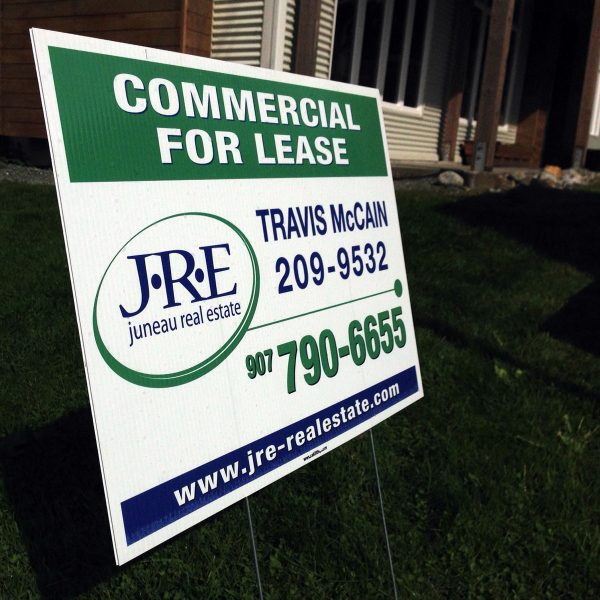 Print Yard Signs for Real Estate, Sales and Specials, Political Campaigns, Directional Information, and Garage Sales