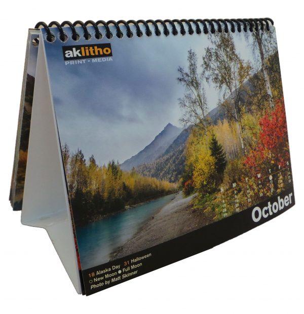 Alaska Litho's 2017 Desktop Photo Calendar