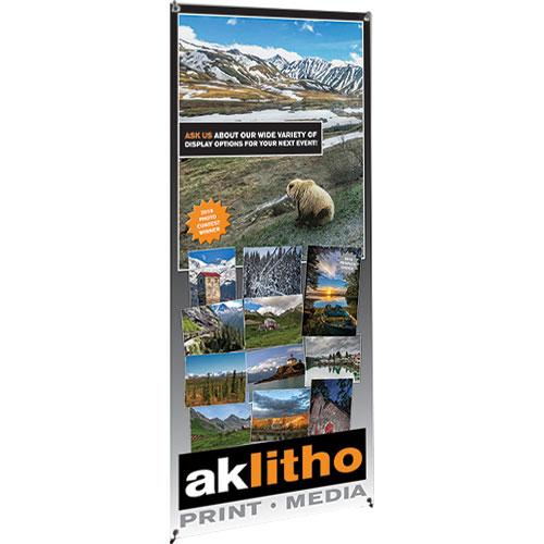 Alaska Litho's X-Tend 3 Banner Stand
